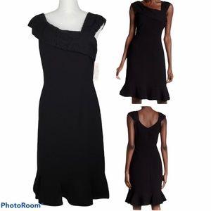 NWT Nanette Lepore Rich Romantics Very Black Dress